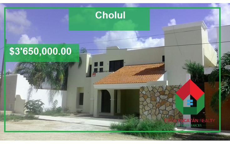 Foto de casa en venta en  , cholul, mérida, yucatán, 1420539 No. 01