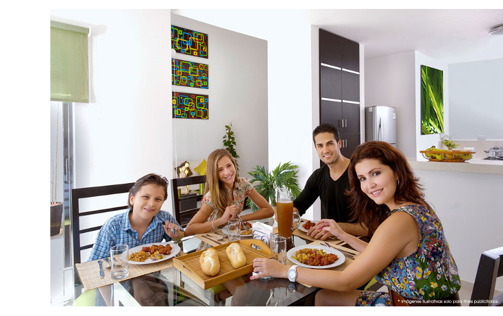 Foto de casa en venta en  , cholul, mérida, yucatán, 1430735 No. 03