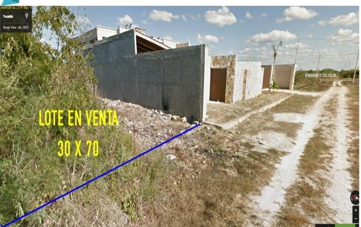 Foto de terreno habitacional en venta en  , cholul, mérida, yucatán, 1435955 No. 01