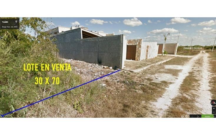 Foto de terreno habitacional en venta en  , cholul, mérida, yucatán, 1435955 No. 02