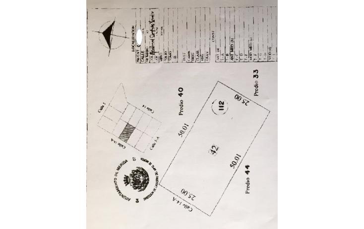 Foto de terreno habitacional en venta en  , cholul, mérida, yucatán, 1449043 No. 01