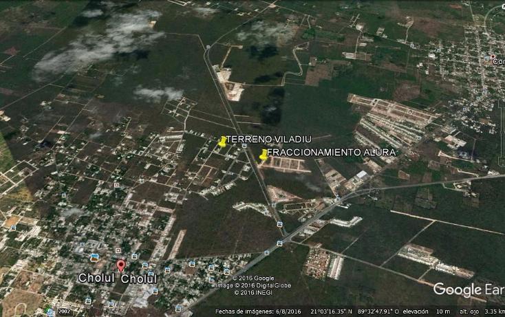 Foto de terreno habitacional en venta en  , cholul, mérida, yucatán, 1449043 No. 02