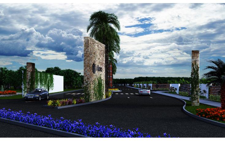 Foto de terreno habitacional en venta en  , cholul, mérida, yucatán, 1451723 No. 02