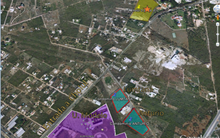 Foto de terreno habitacional en venta en, cholul, mérida, yucatán, 1480391 no 03