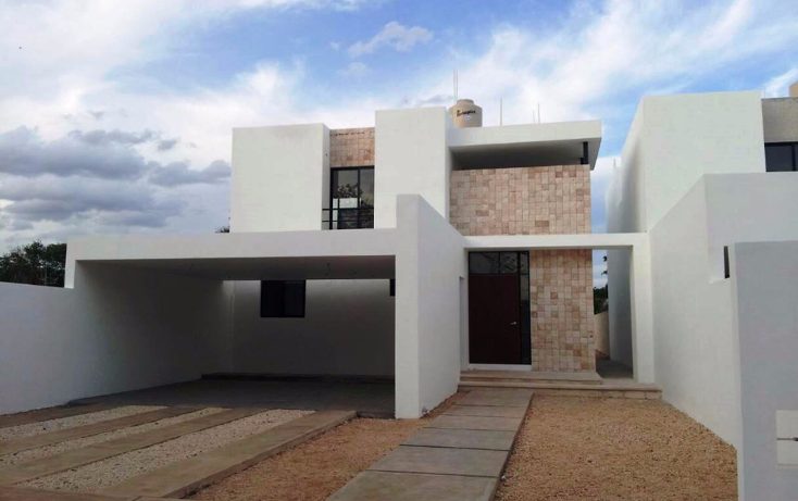 Foto de casa en venta en  , cholul, mérida, yucatán, 1482517 No. 01