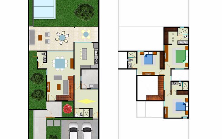 Foto de casa en venta en  , cholul, m?rida, yucat?n, 1484493 No. 04