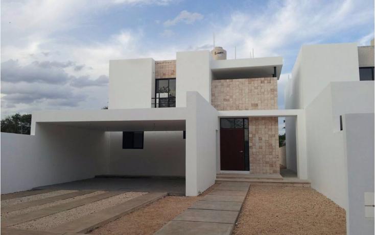 Foto de casa en venta en  , cholul, mérida, yucatán, 1488963 No. 01