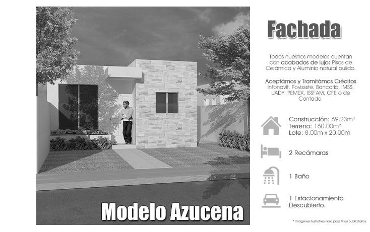 Foto de casa en venta en  , cholul, mérida, yucatán, 1518083 No. 01