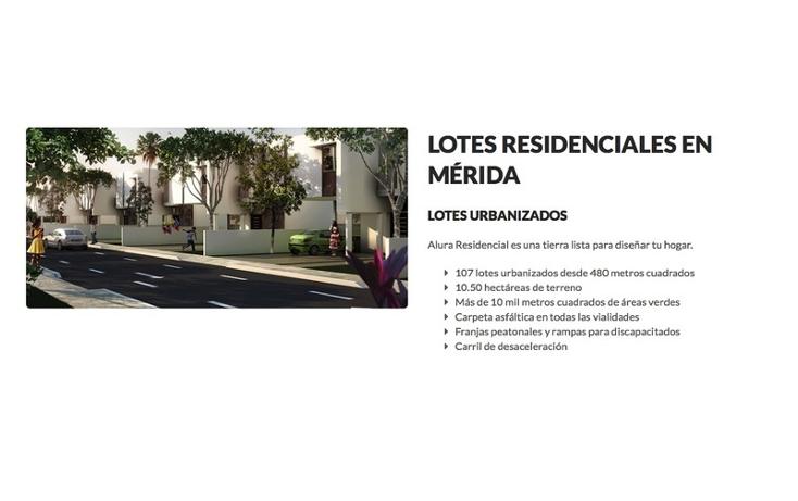 Foto de terreno habitacional en venta en  , cholul, mérida, yucatán, 1520413 No. 06