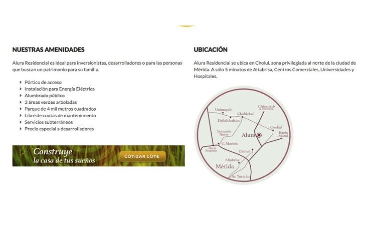 Foto de terreno habitacional en venta en  , cholul, mérida, yucatán, 1520413 No. 09