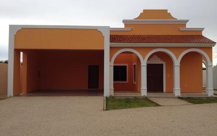 Foto de casa en venta en  , cholul, mérida, yucatán, 1533542 No. 01
