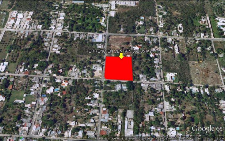 Foto de terreno habitacional en venta en, cholul, mérida, yucatán, 1551358 no 02