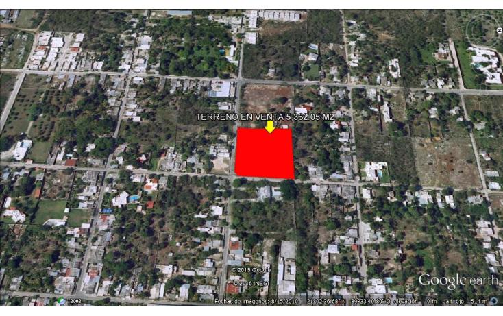 Foto de terreno habitacional en venta en  , cholul, m?rida, yucat?n, 1551358 No. 02