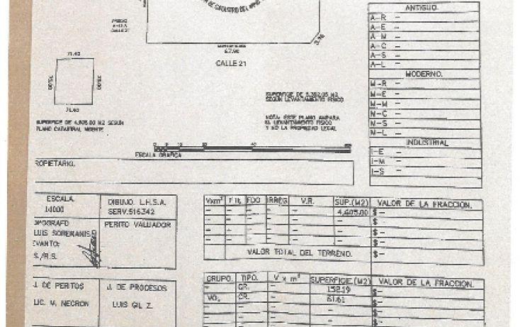 Foto de terreno habitacional en venta en, cholul, mérida, yucatán, 1551358 no 05