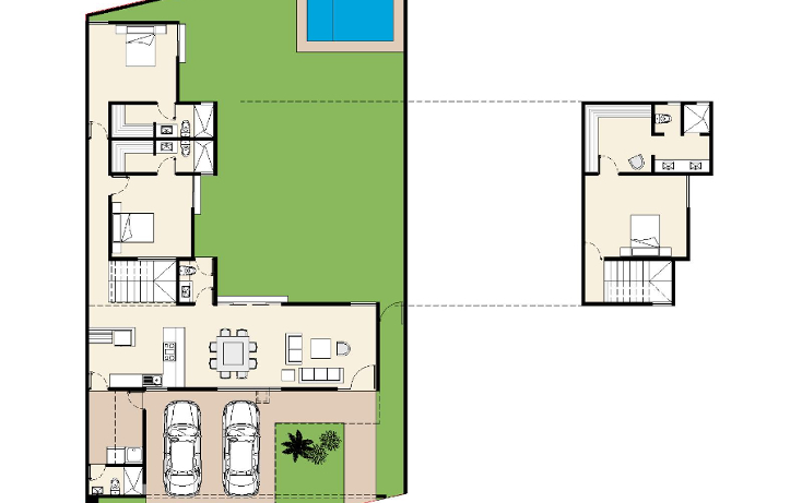 Foto de casa en venta en  , cholul, mérida, yucatán, 1605514 No. 10