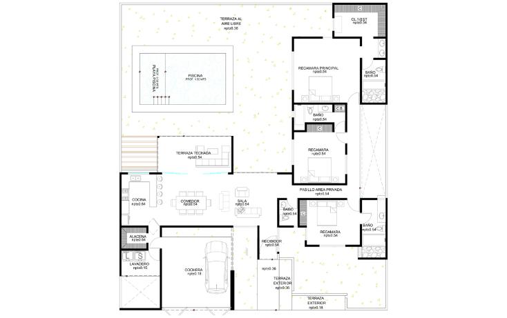 Foto de casa en venta en  , cholul, m?rida, yucat?n, 1616502 No. 05