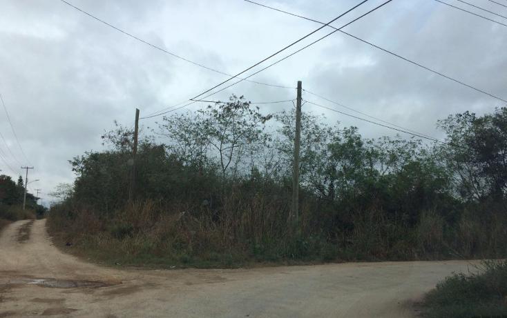 Foto de terreno habitacional en venta en  , cholul, mérida, yucatán, 1627096 No. 01