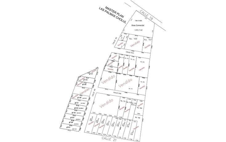 Foto de terreno habitacional en venta en, cholul, mérida, yucatán, 1667378 no 01
