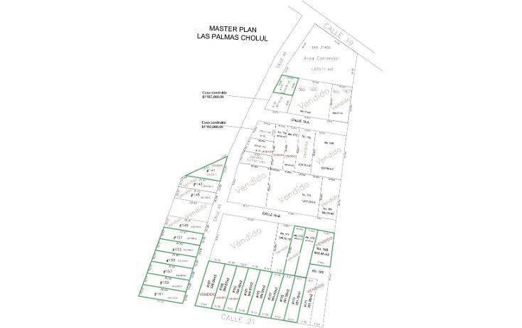 Foto de terreno habitacional en venta en  , cholul, mérida, yucatán, 1667378 No. 01