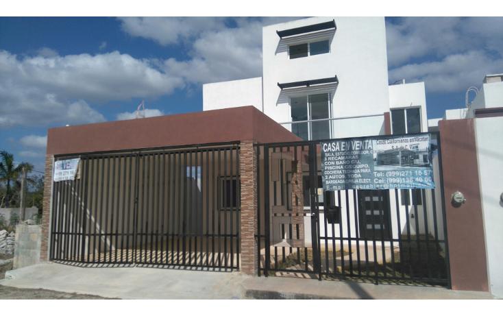 Foto de casa en venta en  , cholul, mérida, yucatán, 1681390 No. 01