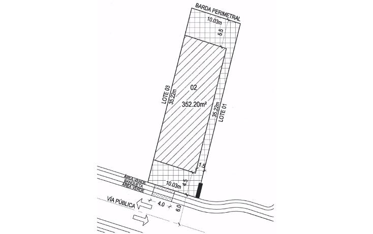 Foto de terreno habitacional en venta en  , cholul, m?rida, yucat?n, 1695010 No. 09