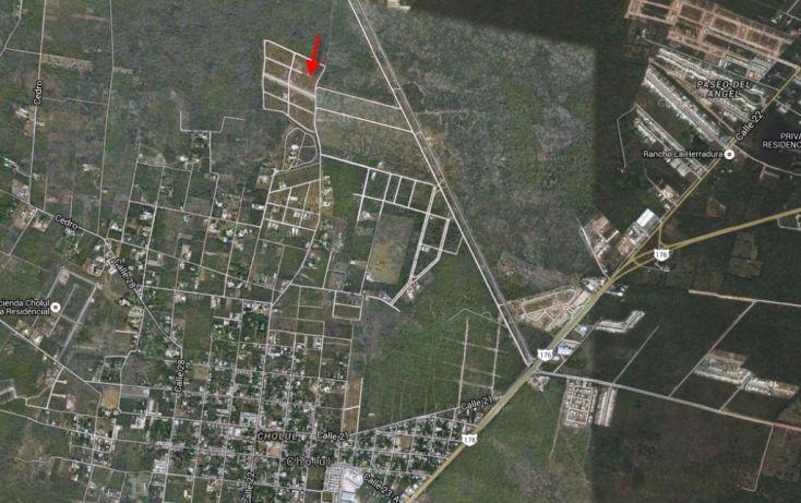 Foto de terreno habitacional en venta en, cholul, mérida, yucatán, 1698528 no 03