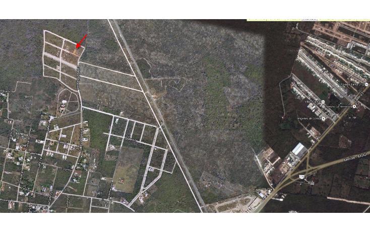 Foto de terreno habitacional en venta en  , cholul, m?rida, yucat?n, 1698528 No. 04
