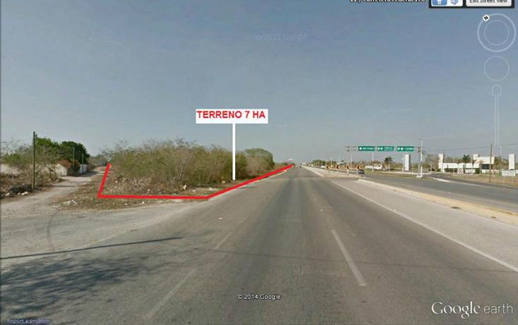 Foto de terreno habitacional en venta en  , cholul, mérida, yucatán, 1700696 No. 04