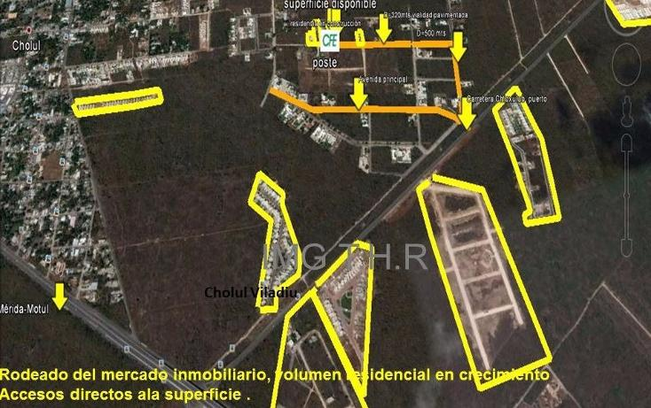 Foto de terreno habitacional en venta en  , cholul, mérida, yucatán, 1775118 No. 02