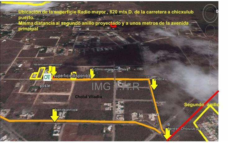 Foto de terreno habitacional en venta en  , cholul, mérida, yucatán, 1775118 No. 03