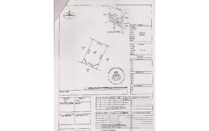 Foto de terreno habitacional en venta en  , cholul, mérida, yucatán, 1828858 No. 01