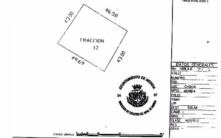 Foto de terreno habitacional en venta en, cholul, mérida, yucatán, 1974910 no 05
