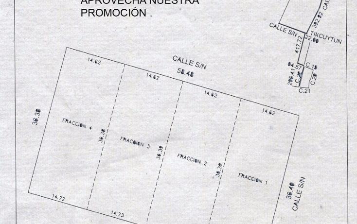 Foto de terreno habitacional en venta en  , cholul, mérida, yucatán, 2004374 No. 01