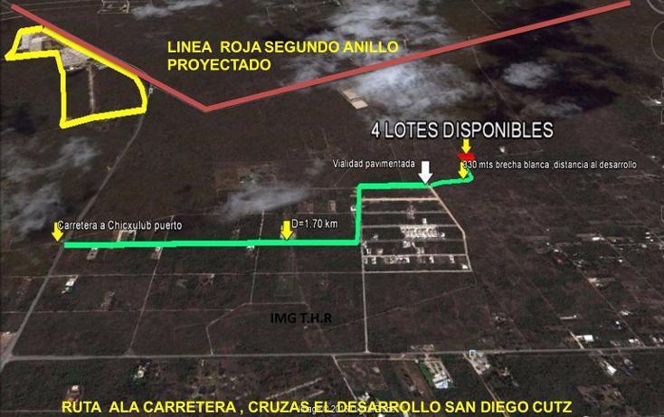 Foto de terreno habitacional en venta en  , cholul, mérida, yucatán, 2004374 No. 03