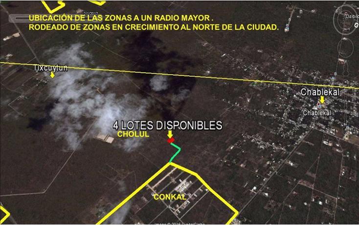 Foto de terreno habitacional en venta en  , cholul, mérida, yucatán, 2004374 No. 14