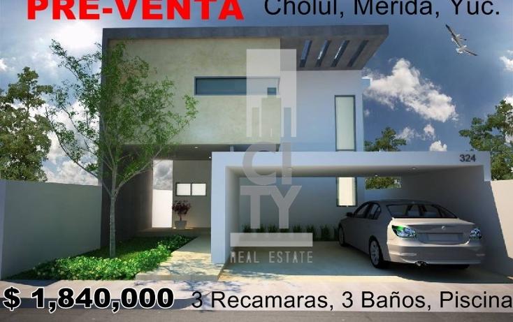 Foto de casa en venta en  , cholul, m?rida, yucat?n, 2012503 No. 01