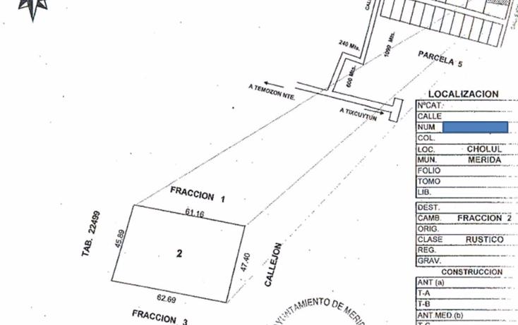 Foto de terreno habitacional en venta en  , cholul, mérida, yucatán, 2015808 No. 02