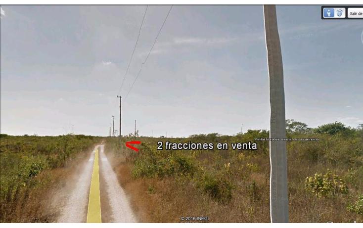 Foto de terreno habitacional en venta en  , cholul, mérida, yucatán, 2015808 No. 04