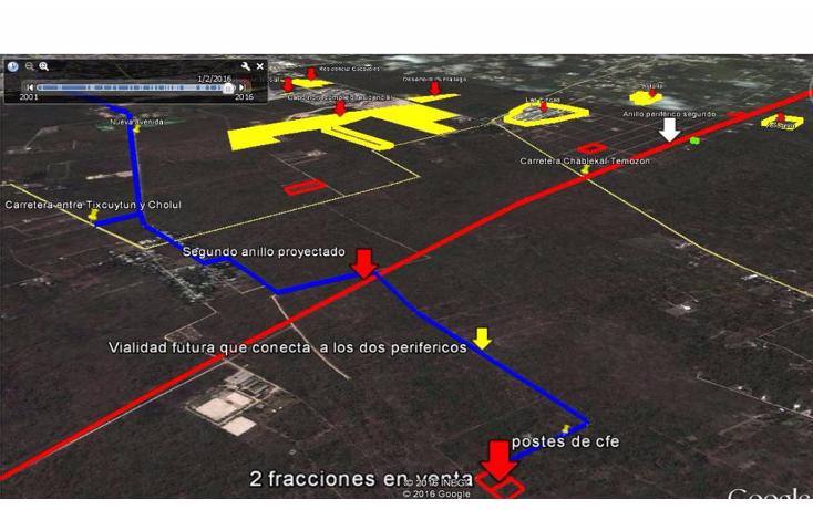 Foto de terreno habitacional en venta en  , cholul, mérida, yucatán, 2015808 No. 05