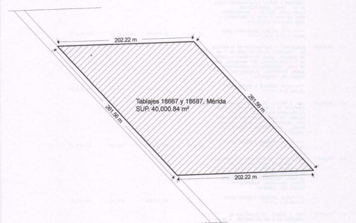 Foto de terreno habitacional en venta en, cholul, mérida, yucatán, 2037224 no 02