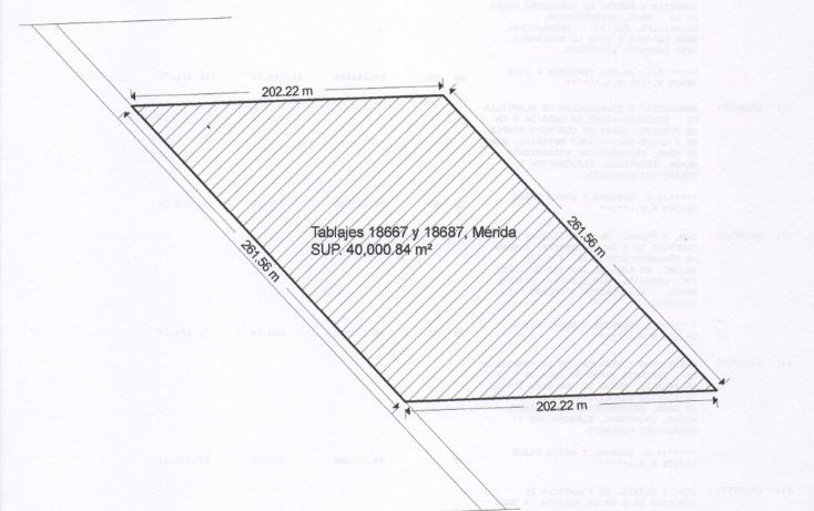 Foto de terreno habitacional en venta en  , cholul, mérida, yucatán, 2037224 No. 02