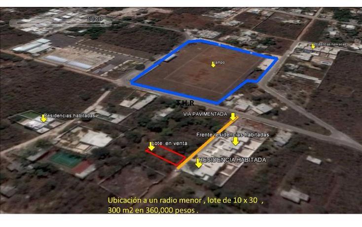 Foto de terreno habitacional en venta en  , cholul, mérida, yucatán, 2038690 No. 03