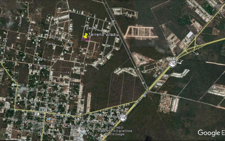 Foto de terreno habitacional en venta en  , cholul, mérida, yucatán, 2629123 No. 01