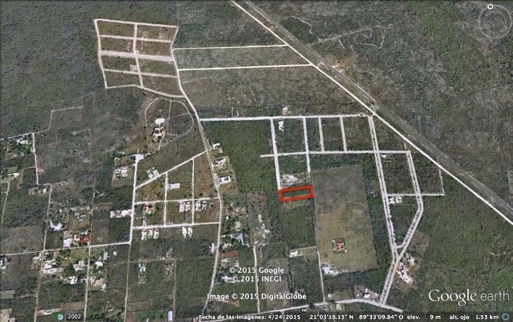 Foto de terreno habitacional en venta en  , cholul, mérida, yucatán, 2629123 No. 03