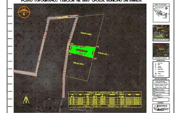 Foto de terreno habitacional en venta en  , cholul, mérida, yucatán, 4465945 No. 03