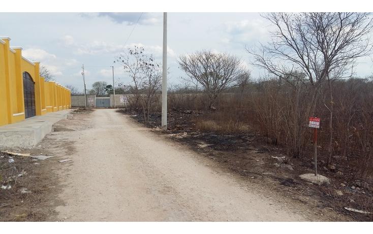 Foto de terreno habitacional en venta en  , cholul, mérida, yucatán, 630660 No. 01