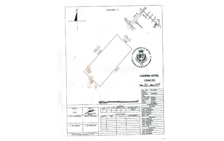 Foto de terreno habitacional en venta en  , cholul, mérida, yucatán, 630660 No. 06