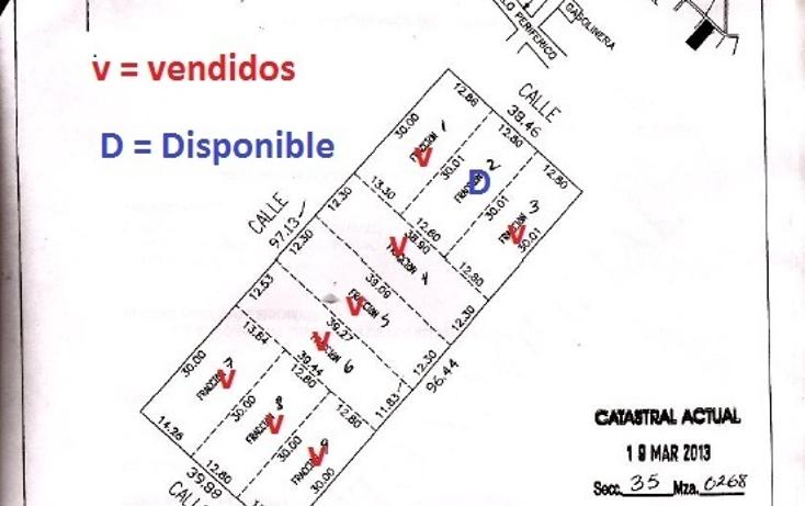 Foto de terreno habitacional en venta en  , cholul, mérida, yucatán, 630660 No. 10
