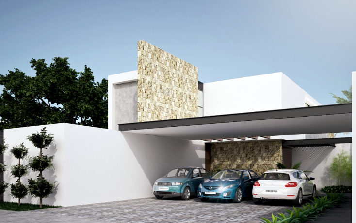 Foto de casa en venta en  , cholul, mérida, yucatán, 941881 No. 01