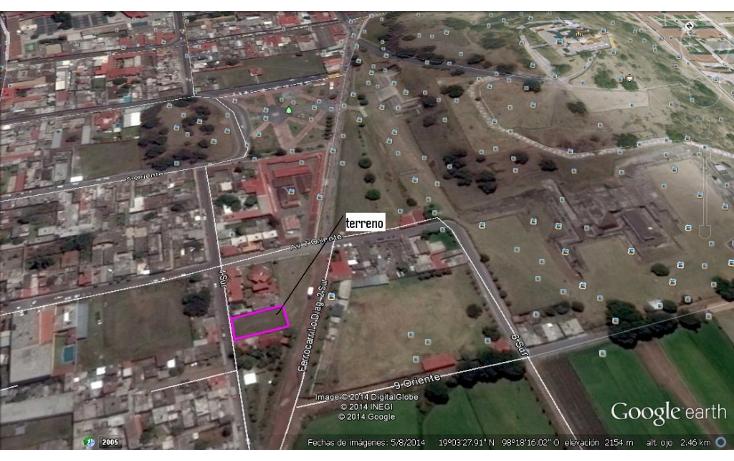 Foto de terreno habitacional en venta en  , cholula de rivadabia centro, san pedro cholula, puebla, 1177737 No. 06
